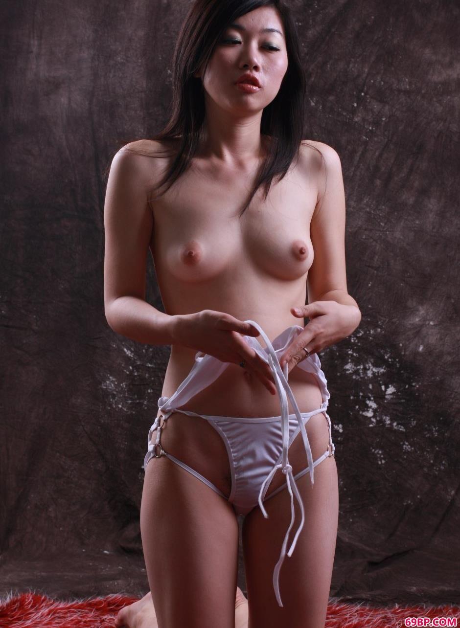 裸模曲奇棚拍可人美体