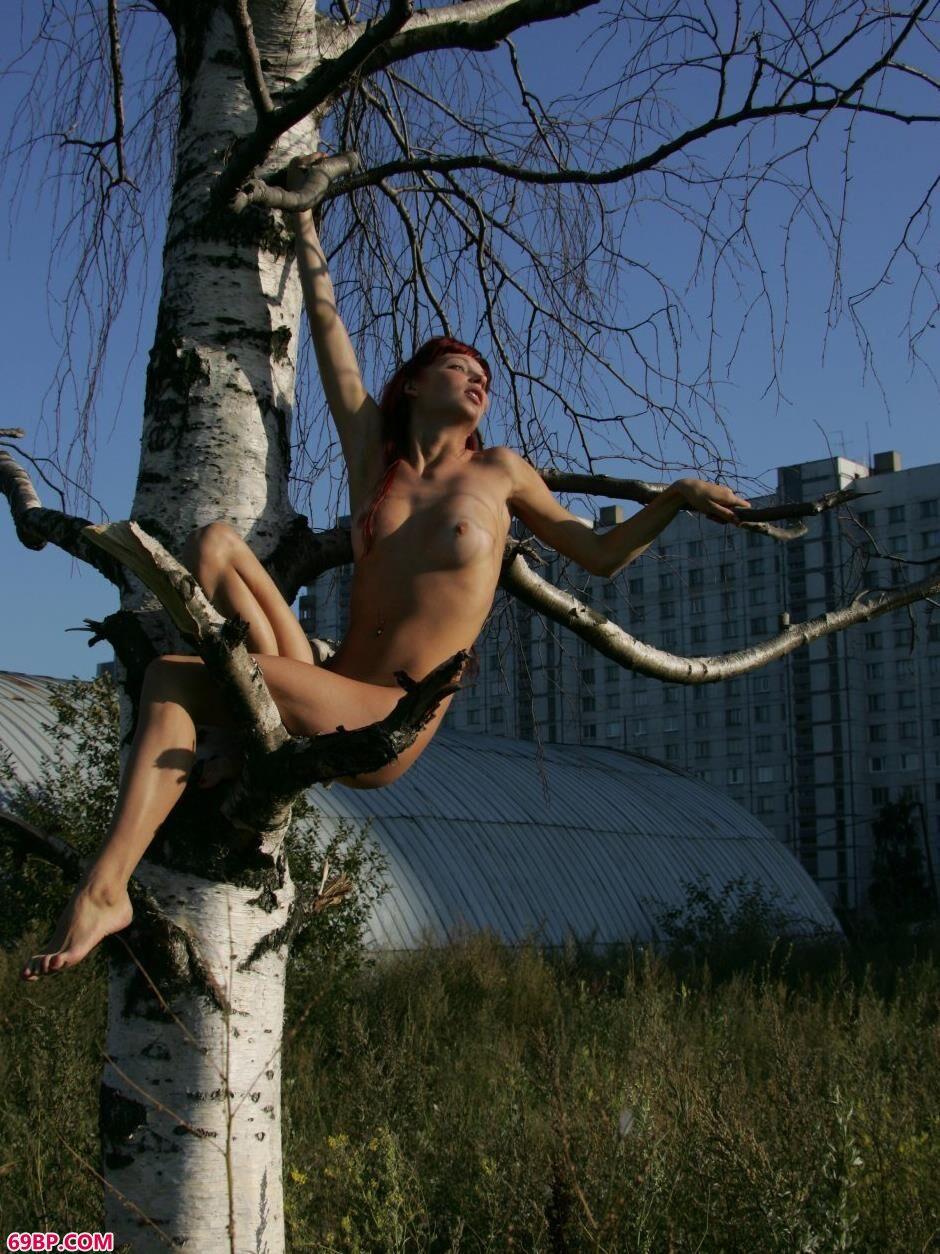 美模艾拉Ira坐在树枝上的勾魂美体_西西人体大胆后入动态图